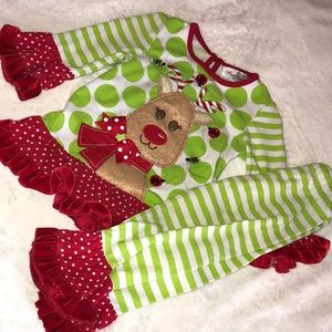 Little girls Christmas outfit!!